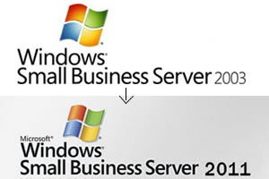 Migration Small Business Server 2003 auf 2011
